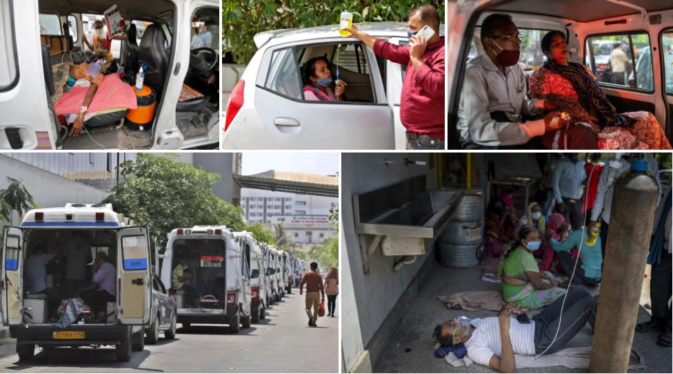 Các nước hỗ trợ khẩn cấp cho Ấn Độ từ nguồn cung oxy, trang thiết bị y tế đến thuốc để đối phó với dịch Covid-19