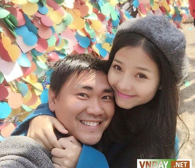 Khánh Hiền tiết lộ ông xã phải kiên trì theo đuổi mình thời gian dài trước khi cưới.