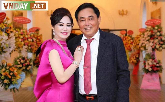 Vợ chồng ông Dũng lò vôi và bà Nguyễn Phương Hằng