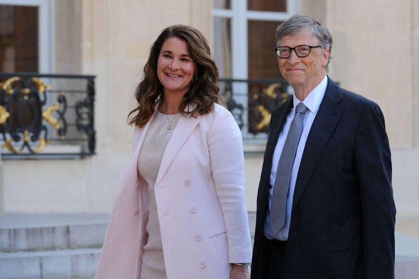 Bà Melinda Gates và ông Bill Gates. Ảnh: Getty.